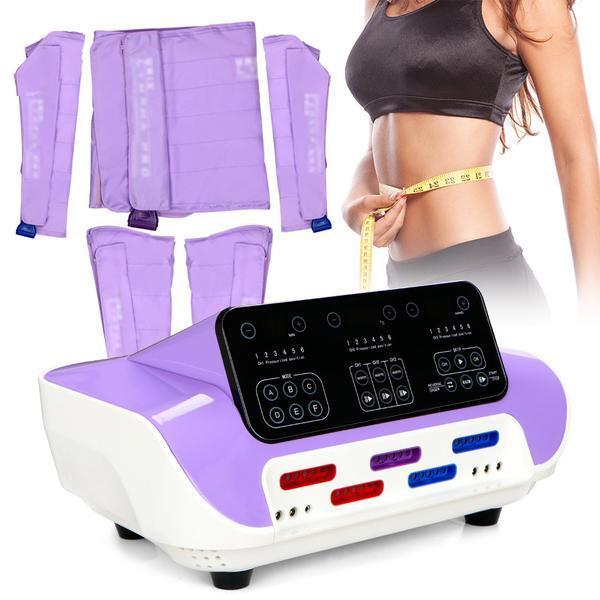 Aparat Cosmetic LCD Drenaj limfatic, Aparat de slabit Presoterapie, pierdere in greutate, Anti Celulita, Detox Body Spa SB-DT-GS299