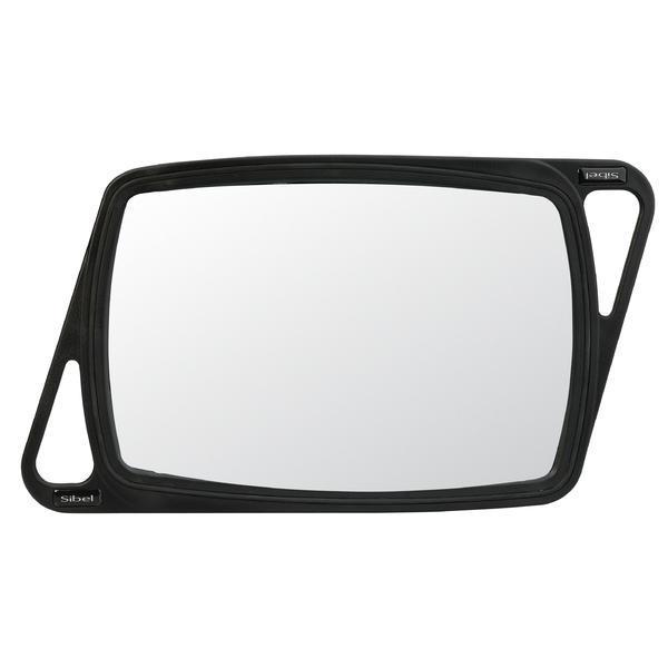 Oglinda profesionala cu cadru de cauciuc Sinelco 32,5x 21,5 cm cod. 0136031-02