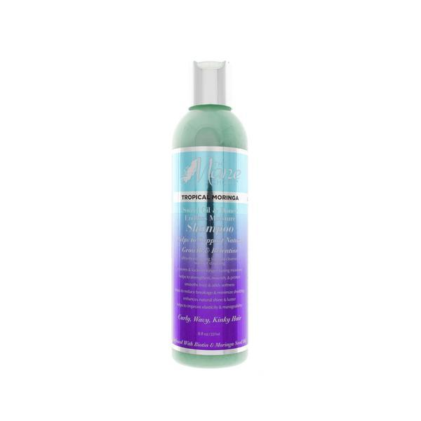 Sampon par cret Tropical Moringa - The Mane Choice, 237 ml