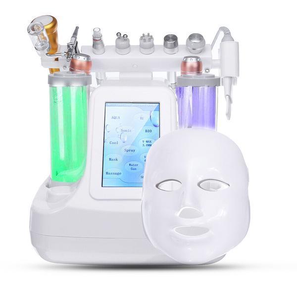 Aparat Cosmetic 12in1 Jet Hidroxigen Micro Bule Totulperfect Indepartare Puncte Negre, Dermoabraziune, Curatare, Hidratantare, Lifting Saloane, Indepartarea Acneei, Ultrasunete, RF