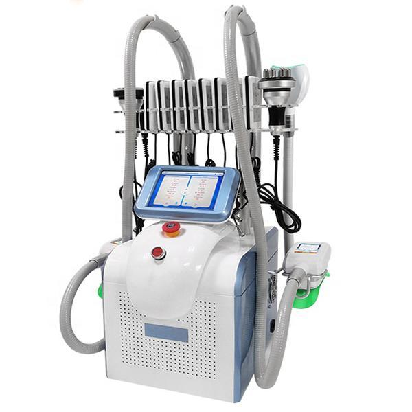 Aparat Profesional Criolipoliza Triplu, Lipolaser - Liposuctie Virtuala, RF Fototerapie Indepartare celulita, Cavitatie 40K, Radiofrecventa Lifting Salon, 360 CRIOSCULPT Pro S3