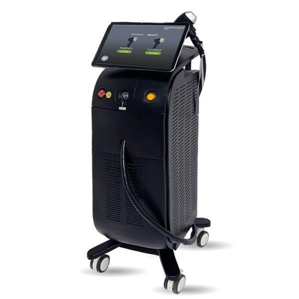 Aparat Epilare Definitiva Ice Platinum 755nm, 808nm, 1064nm Dioda Laser, 20.000.000 Impulsuri, Epilare Laser Definitiva Profesionala Salon TEC+Sapphire Refrigeration