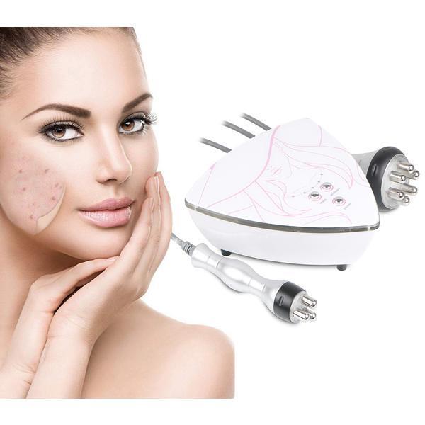 Aparat Cosmetic 2in1 Rf Fadiofrecventa, Lifting Ten Profesional, Rf Skin Rejuvenation RF Corporal, Indepartare celulita, Slabit Bellisima 22Y3