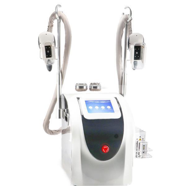 Aparat Profesional Criolipoliza Dublu, Lipolaser - Liposuctie Virtuala, RF Fototerapie Indepartare celulita, Cavitatie Radiofrecventa Lifting Salon, SLim UP