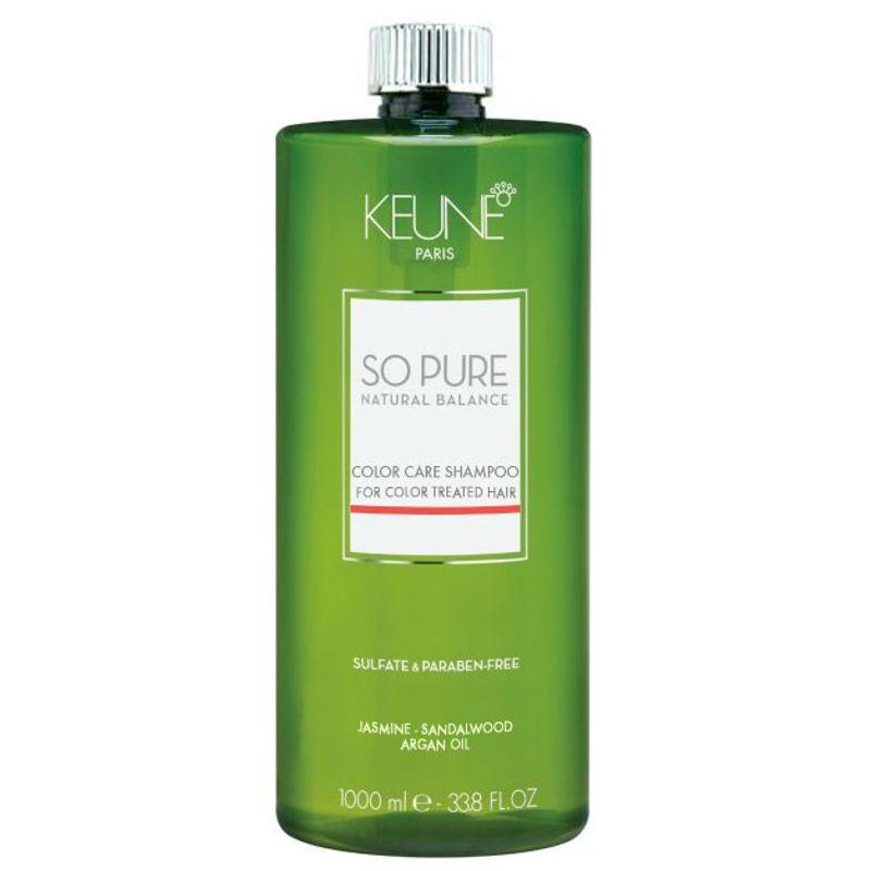 Sampon Par Vopsit - Keune So Pure Color Care Shampoo 1000 ml esteto.ro