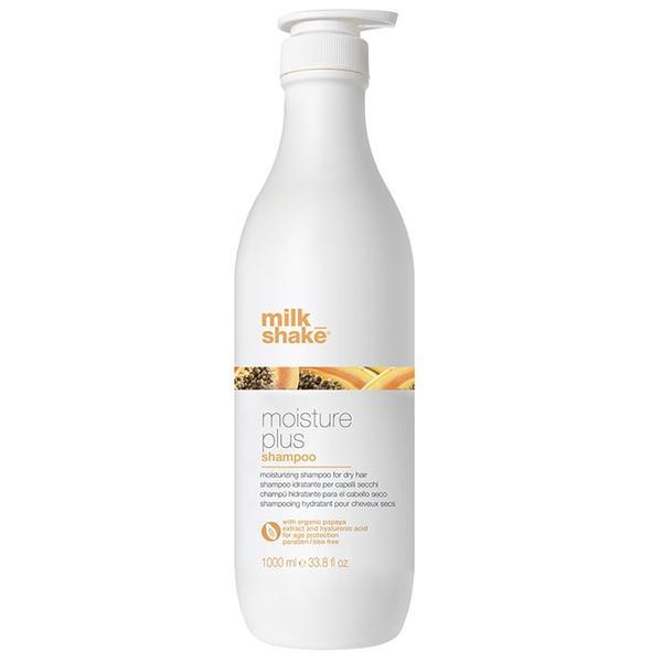 Sampon hidratant pentru par uscat Milk Shake Moisture Plus 1000ml
