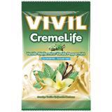 SHORT LIFE - Bomboane fara Zahar cu Vanilie si Menta Creme Life Vivil, 110 g