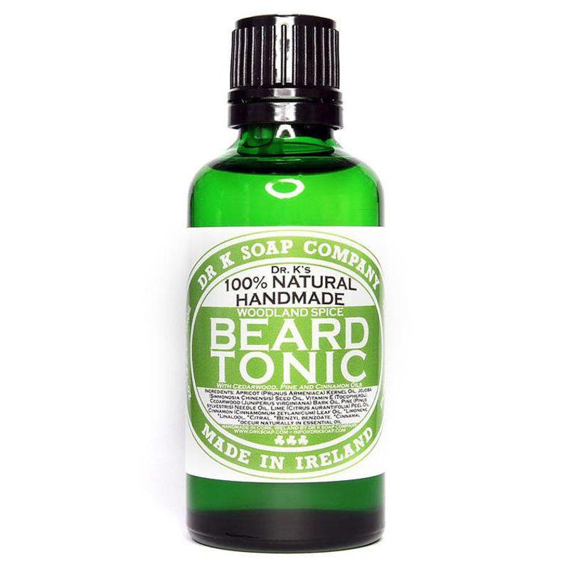 Tonic Aromat pentru Barba - Dr K Soap Company Woodland Spice Beard Tonic 50 ml imagine produs