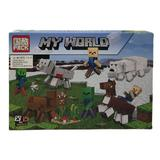 Set de constructie LEGO Minecraft, My world, Lup, 207 piese, 6 ani