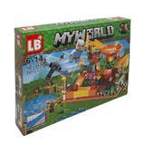 Set de constructie LEGO Minecraft, My world, Arcade, 227 piese, 4 in 1, 6 ani