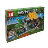Set de constructie LEGO Minecraft, My world, Bounce, 221 piese, 4 in 1, 6 ani