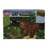 Set de constructie, Bovina LEGO Minecraft, My world, 233 piese, 6 ani