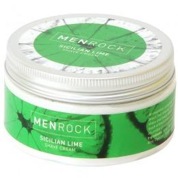 Crema pentru Ras Lime - Men Rock Sicilian Lime Shave Cream 100 gr