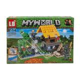 Set de constructie LEGO Minecraft, My world, 221 piese, 4 in 1, 6 ani