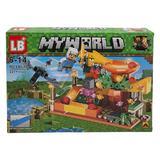 Set de constructie LEGO Minecraft, My world, 227 piese, 4 in 1, 6 ani