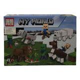 Set de constructie LEGO Minecraft, My world, Polaris, 215 piese