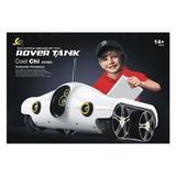 Mini tanc spion I-Spy Rover, wireless, alb