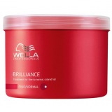 Masca pentru Par Fin sau Normal Vopsit - Wella Professionals Brilliance Treatment 500 ml