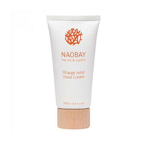 Crema de maini BIO hidratanta si revitalizanta cu extract de portocale Orange Juice Naobay, 100 ml image0
