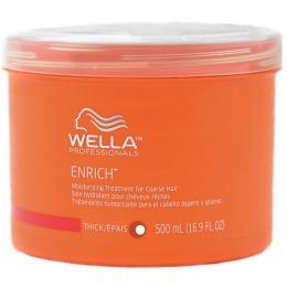 Masca Intens Hidratanta pentru Par cu Structura Puternica - Wella Professionals Enrich Moisturizing Mask 500 ml