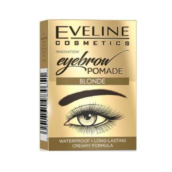 Crema pentru sprancene, Eveline Cosmetics, Blonde, Waterproof