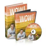 Pachet Wow! Noul ghid ca sa traiesti acum o viata abundenta si implinita. Carte + DVD + CD audio - Florin Pasat, editura Florin Pasat