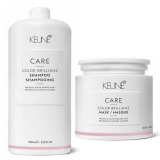Pachet Keune Care Color Brillianz - Sampon si Masca