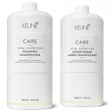 Pachet Keune Care Vital Nutrition 1000 ml - Sampon si Balsam