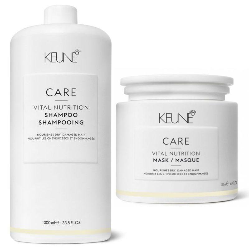 Pachet Keune Care Vital Nutrition - Sampon si Masca