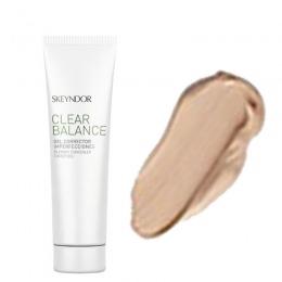 Baza Corectoare Nuanta Inchisa - Skeyndor Clear Balance Blemish Concealer Tinted Gel 30 ml