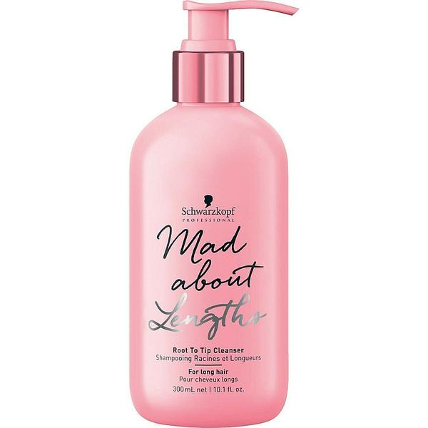 Sampon pentru Par Lung - Schwarzkopf Mad About Lengths Root to Tip Cleanser for Long Hair, 300 ml image0