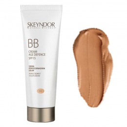 Crema Coloranta Antirid cu Protectie SPF15 - Skeyndor Natural Defence BB Cream Age Defence 02 40 ml