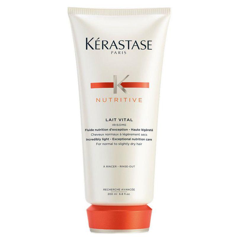 Balsam pentru Par Normal spre Uscat - Kerastase Nutritive Lait Vital Irisome Conditioner 200 ml