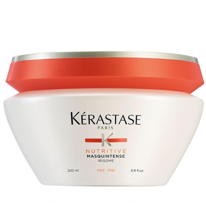 Masca Nutritiva Par Uscat cu Fir Subtire - Kerastase Nutritive MasquIntense Fins 200 ml imagine