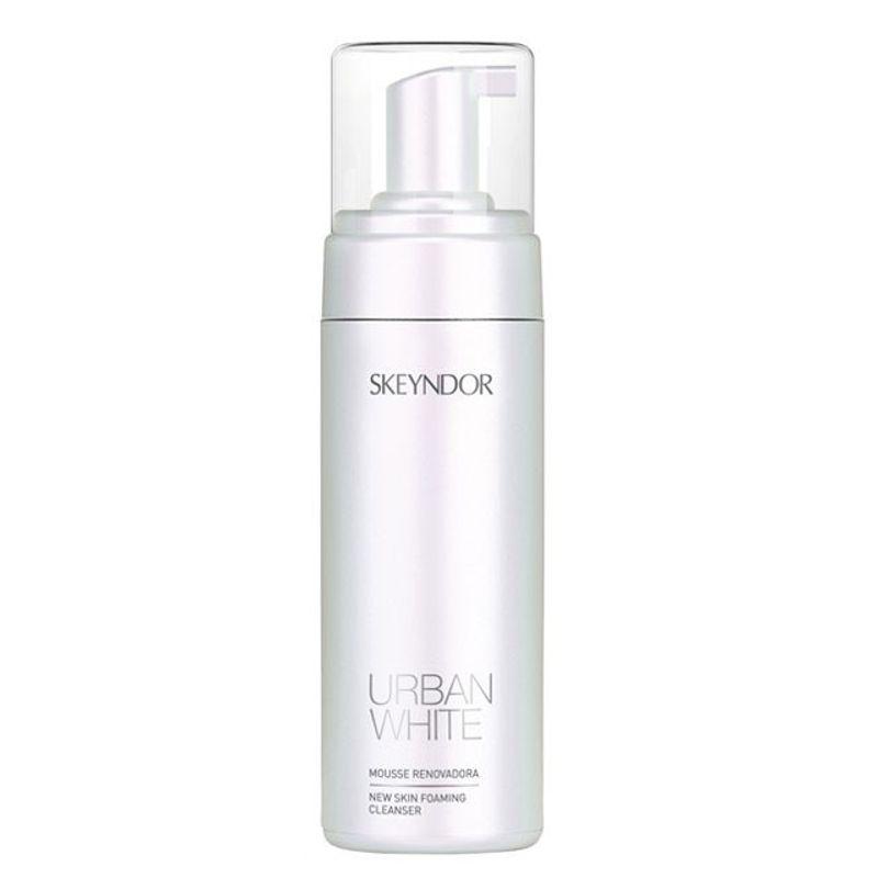 Mousse Reinnoire Faciala - Skeyndor Urban White New Skin Foaming Cleanser 150 ml imagine produs