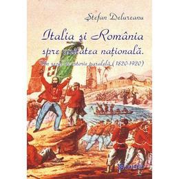 Italia si Romania spre unitatea nationala - Stefan Delureanu, editura Paideia