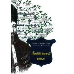 Familiile boieresti romane - Octav-George Lecca, editura Semne