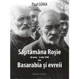 Saptamana rosie sau Basarabia si evreii - Paul Goma, editura Vicovia