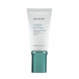 Crema Intens Reparatoare Ten Mixt si Gras - Skeyndor Power Retinol Intensive Repairing Emulsion 50 ml
