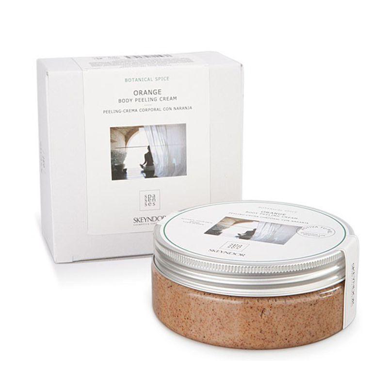 Exfoliant Corporal cu Portocale - Skeyndor Spa Senses Botanical Spice Orange Body Peeling Cream 200 ml