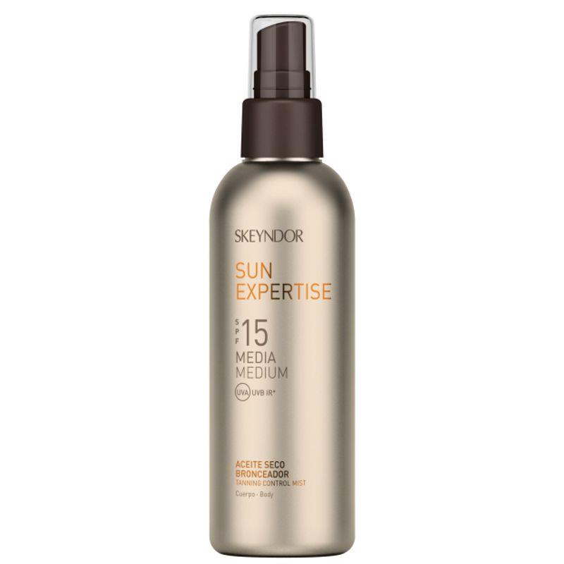 Ulei Uscat pentru Corp cu SPF15 - Skeyndor Sun Expertise Tanning Control Mist SPF15 150 ml imagine