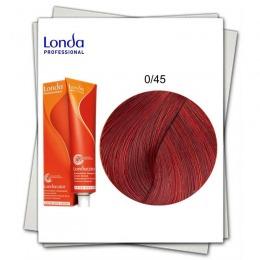 Vopsea fara Amoniac Mixton - Londa Professional nuanta 0/45 mix rosu aramiu