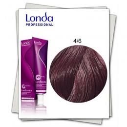 Vopsea Permanenta - Londa Professional nuanta 4/6 castaniu mediu violet