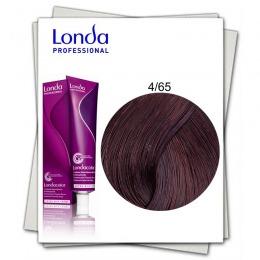 Vopsea Permanenta - Londa Professional nuanta 4/65 castaniu mediu violet rosu