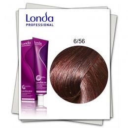 Vopsea Permanenta - Londa Professional nuanta 6/56 blond inchis rosu violet