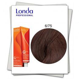 Vopsea Fara Amoniac - Londa Professional nuanta 6/75 blond inchis maro rosu