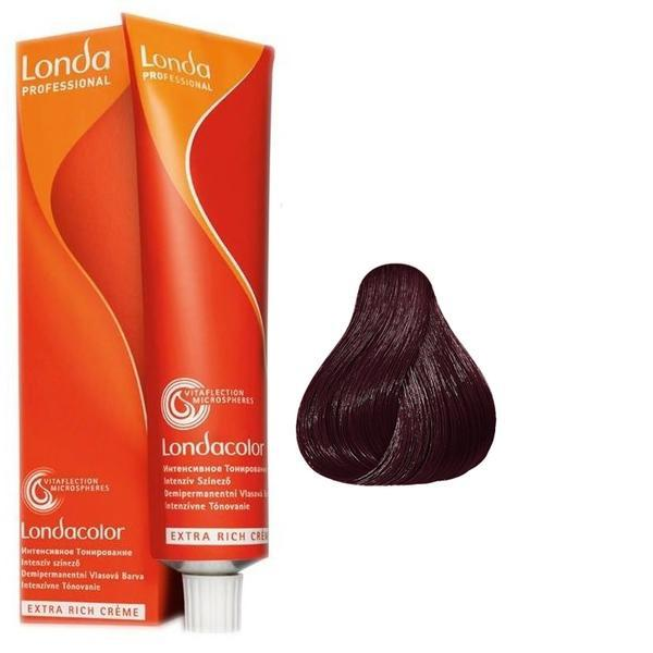Vopsea Fara Amoniac - Londa Professional nuanta 6/75 blond inchis maro rosu imagine