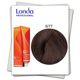 Vopsea Fara Amoniac - Londa Professional nuanta 6/77 blond inchis maro intens