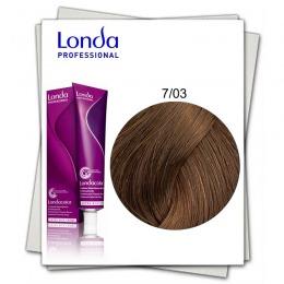 Vopsea Permanenta - Londa Professional nuanta 7/03 blond mediu natural auriu