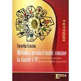 Metodica predarii limbii romane la clasele 1-4 ed.2 (minoritati) - Corneliu Craciun, editura Emia